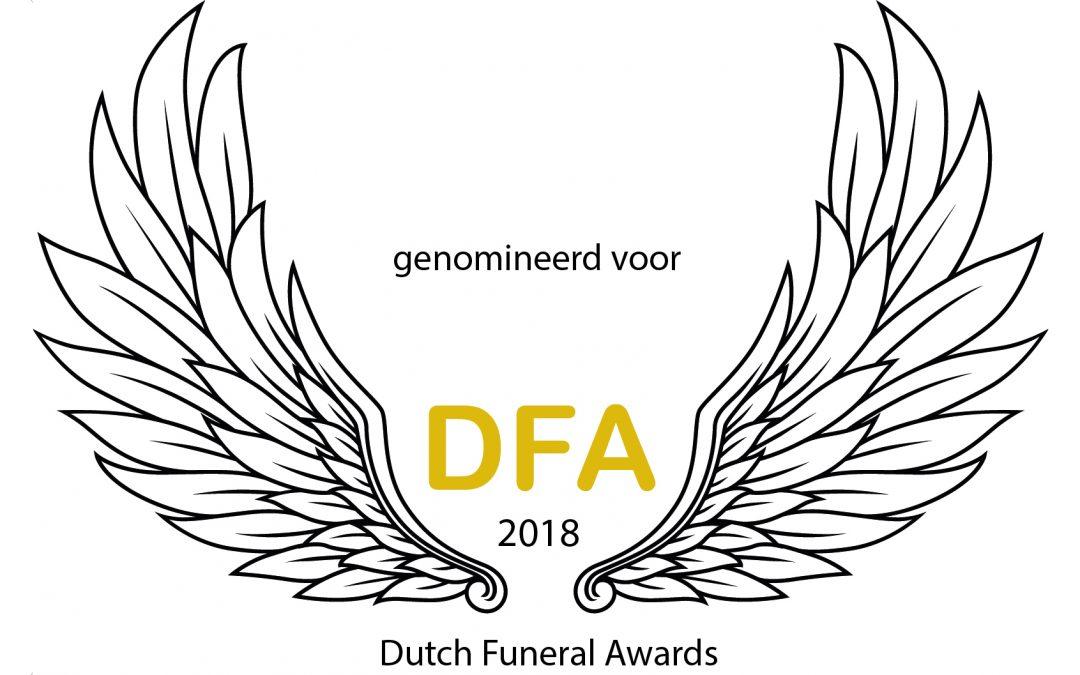 Genomineerd voor Award