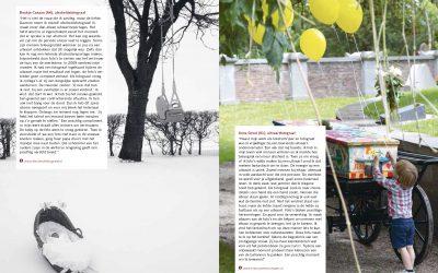 Afscheidsmomenten in Yarden-magazine